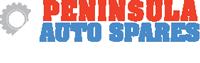 Peninsula Auto Spares white logo